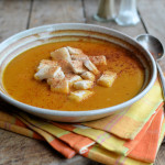 Using Christmas Dinner Leftover Carrots for a 5:2 Diet Soup: Smoky Carrot & Coriander Soup with Croutons