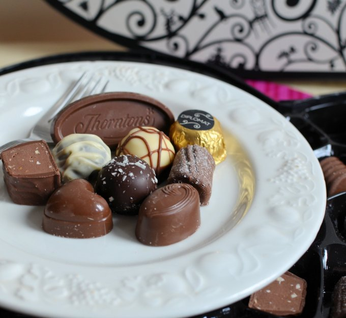 Romantic Continental Breakfast with Thorntons Chocolates!