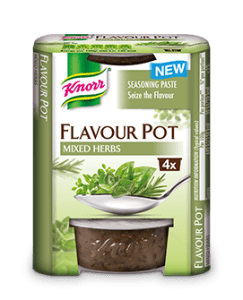 MIXED HERBS FLAVOUR POT