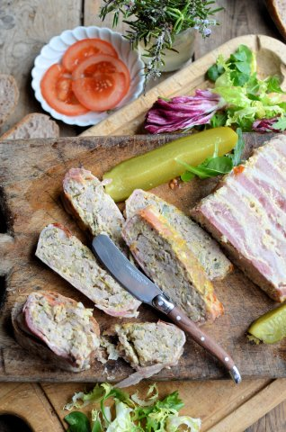 Meatloaf or Terrine? An Easy Recipe for Pork Sausage and Orange Terrine (Gluten Free)