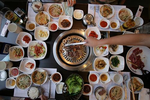 Korean Barbecue Food