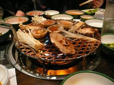 Korean Barbecue at Koba