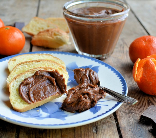 Chocolate Orange Curd Lavender and Lovage