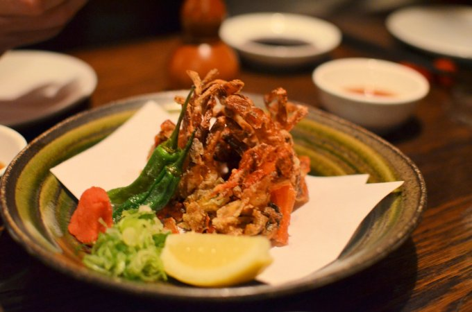 Deep Fried Soft Shell Crab