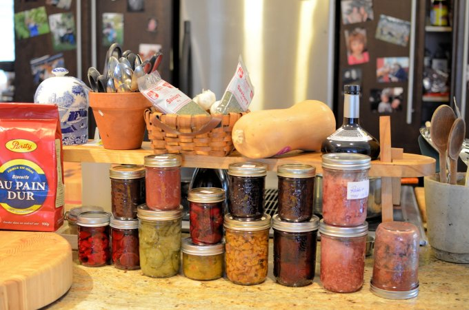 Home-made Pickles & Potted Meat by Lori Butler - The Island Chef