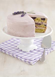 Blueberry & Lavender Cake