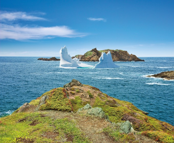 Coastline, Twillingate, New World Islands, Newfoundland and Labrador, Canada