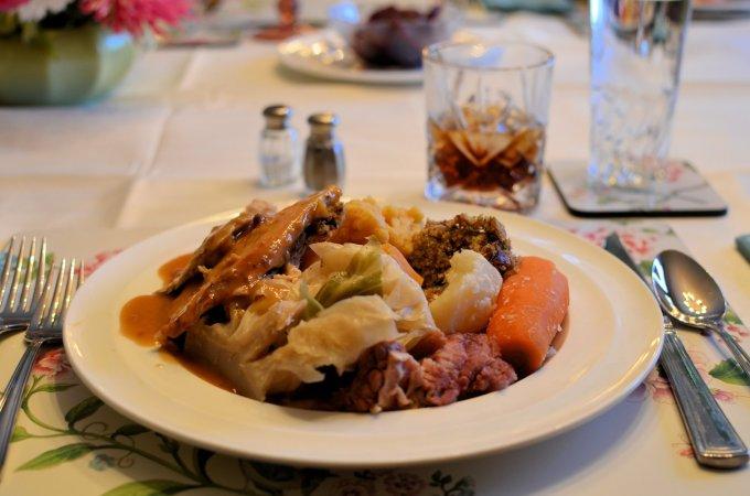 Newfoundland Jiggs Dinner