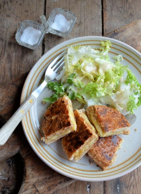Garlic Bread Cheese Toastie