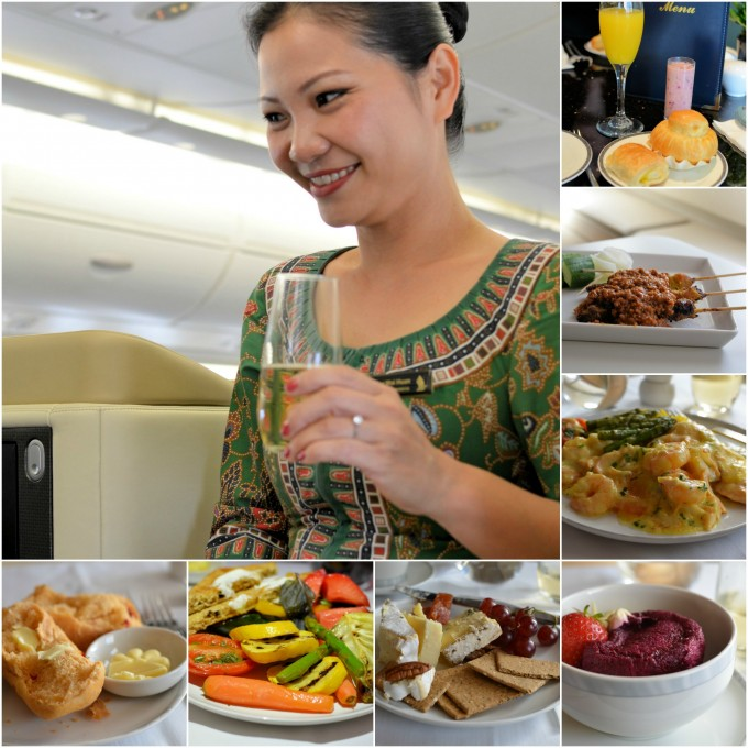 Fine Dining, Champagne & Excellent Service: Flying Business Class with Singapore Airlines
