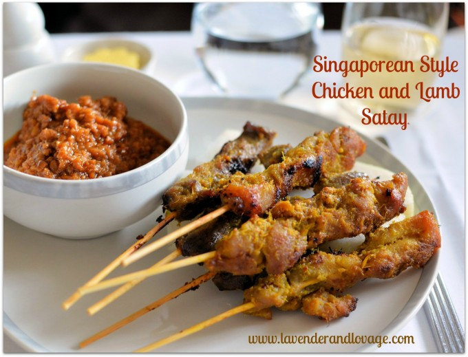 Singapore Airlines Satay