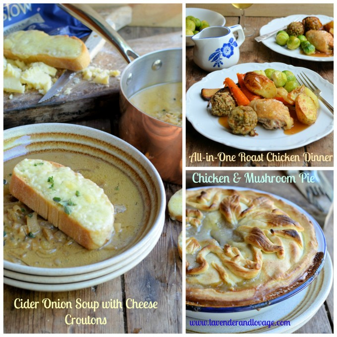 Soup, Pie and Chicken Dinner