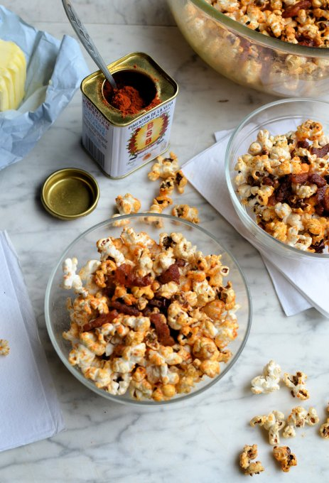 Bacon Chilli Popcorn in the Microwave or a MultiCooker
