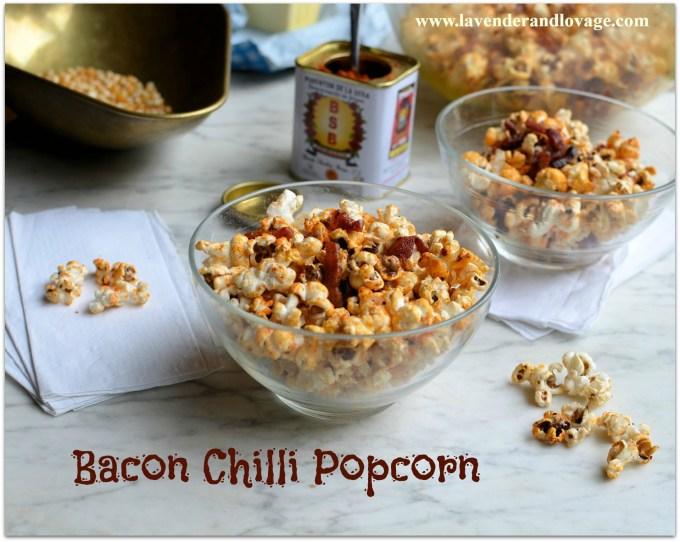 Bacon Chilli Popcorn banner