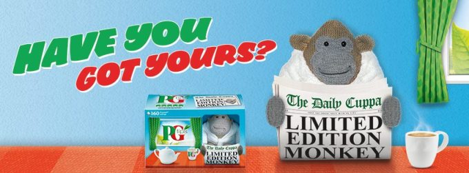 PG Tips Limited Edition Monkey