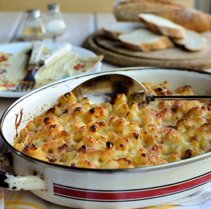 A Secret Recipe: Macaroni Cheese - Mac and Cheese with Bacon and Tomatoes