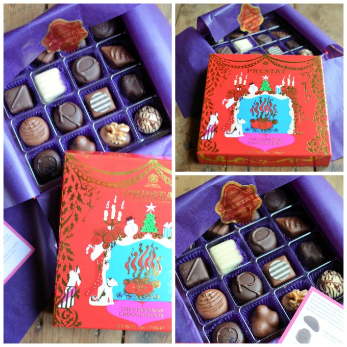 The Red Christmas Chocolate Box