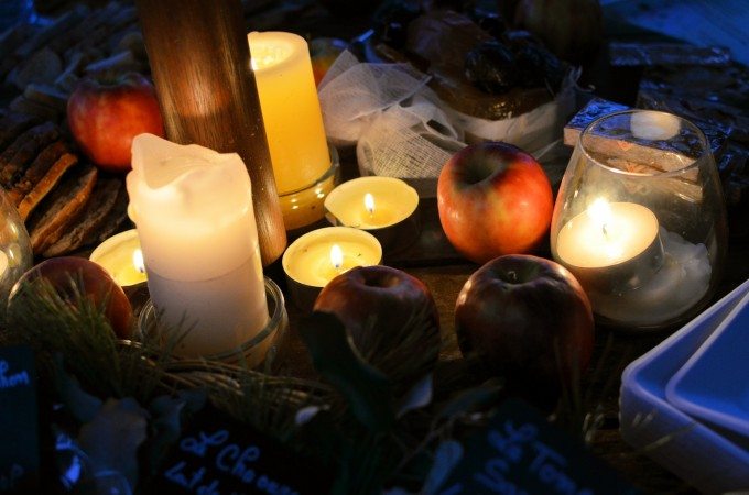 candlelight picnic