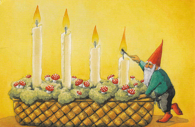 Nordic Advent Candles