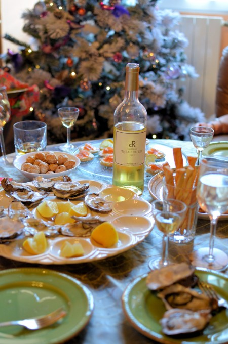 Christmas Day Oysters