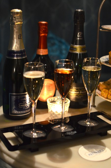 Afternoon Tea with Laurent-Perrier Champagne Tasting Flight
