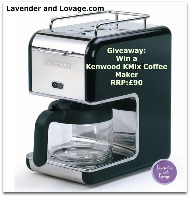 Giveaway: Win a Kenwood KMix Coffee Maker RRP:£90 #BreakfastWeek