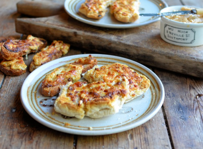 Potted Cheese Welsh Rarebit