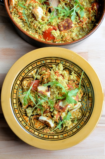 Cauliflower Couscous Tabbouleh