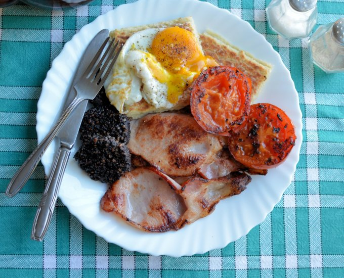 """The Ulster Fry"" – Traditional Irish Breakfast"