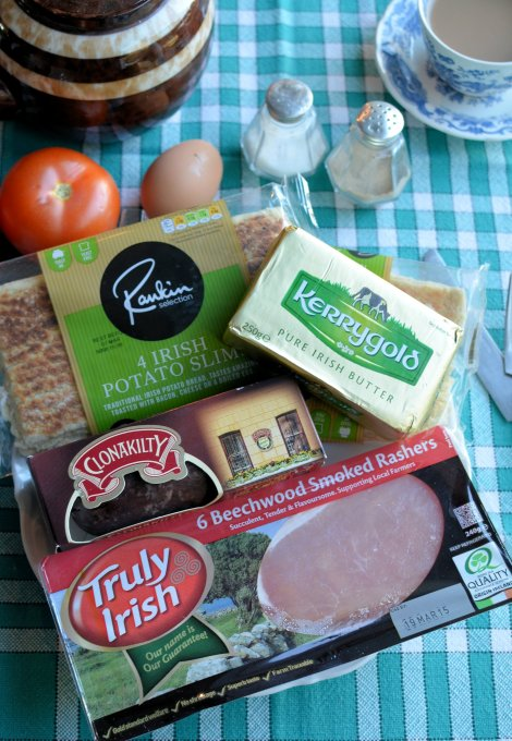 Irish Breakfast Ingredients