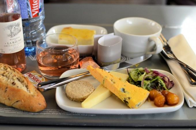 Eurostar meal standard premier