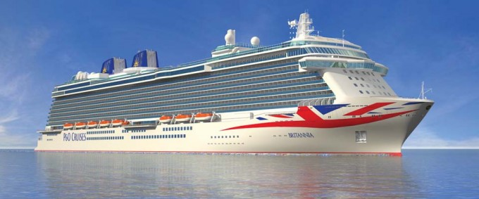 Fine Dining, Gin, Wine and Cookery Classes on P & O Britannia's Maiden Voyage