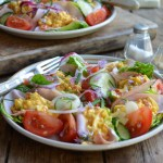 A Carb-Free Snack: Mexican Egg Salad Lettuce Wraps