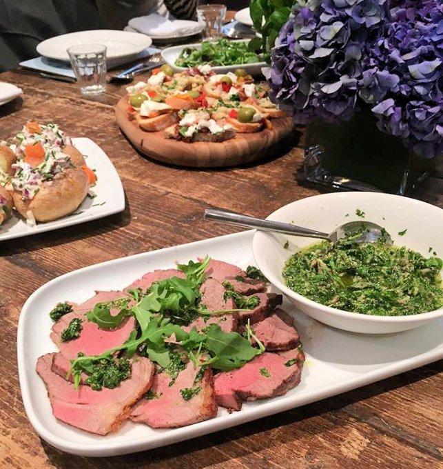 Bruschetta to Roast Beef! Cooking with Rachel Allen at Cactus Kitchens, London