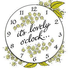 It's Lovely o'clock