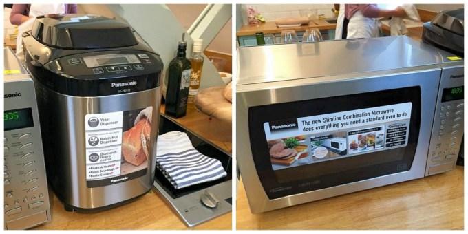Panasonic Microwave and Bread Maker