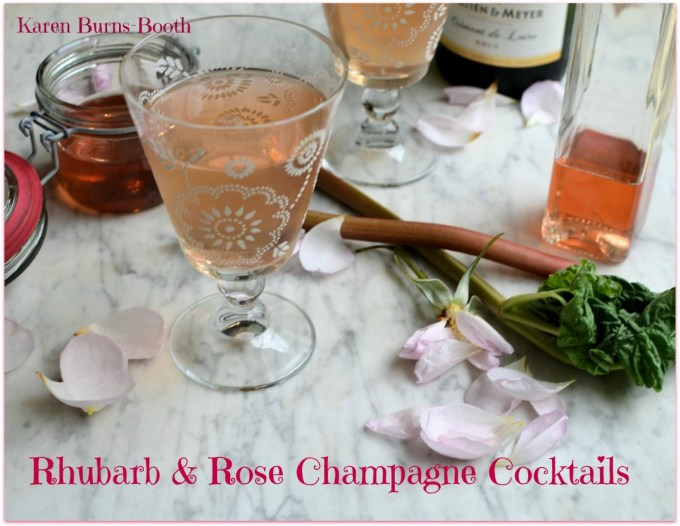 The Guild of Food Writers Awards 2015: Rhubarb, Rose and Strawberry Champagne Cocktail