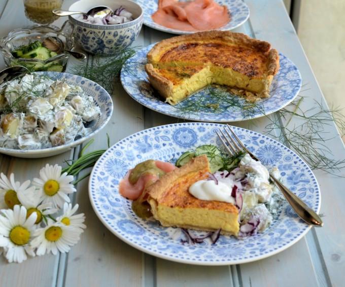 Västerbottensost Cheese and a Swedish Midsummer Menu