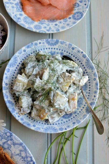 Färskpotatissalad (Swedish Potato Salad)