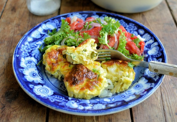 A Secret Recipe: Baked Mini Cheese & Onion Omelettes