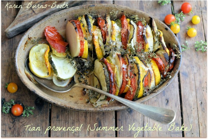 Tian provençal (Summer Vegetable Bake)