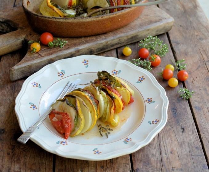 Tian Provençal (Summer Vegetable Gratin)