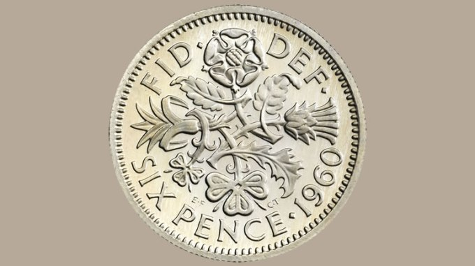 Claim your FREE Silver Sixpence!
