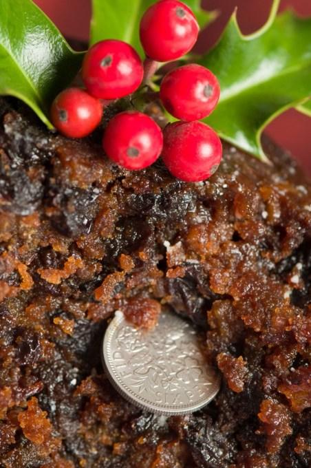 Christmas Pudding Sixpence