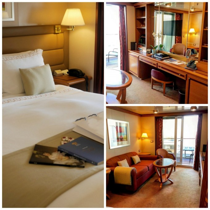 My suite on board the Silver Spirit