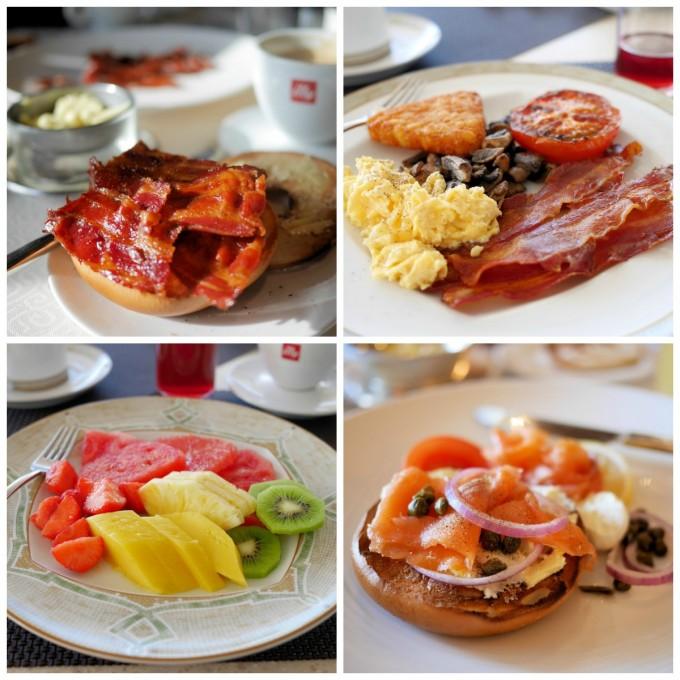 Breakfast in the La Terrazza and The Restuarant