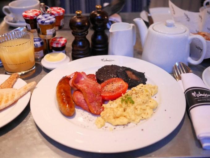 Malmaison Breakfast