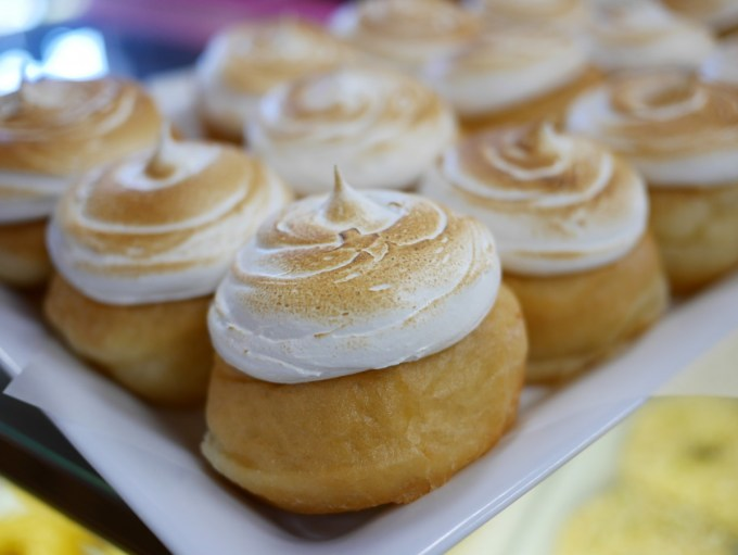 Lemon Meringue Doughnut