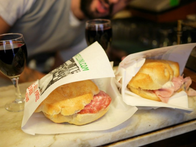 Fennel and Wild Boar Sandwiches in Firenze