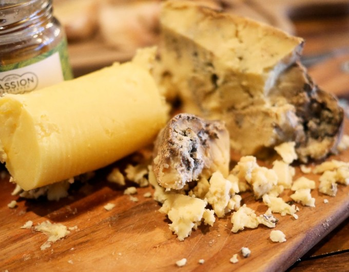 Young Buck Blue Cheese, Coppi Restaurant, Belfast